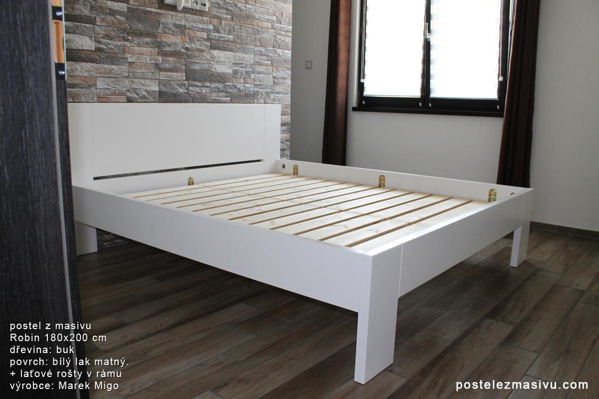 Do nového bydlení s novou postelí z masivu
